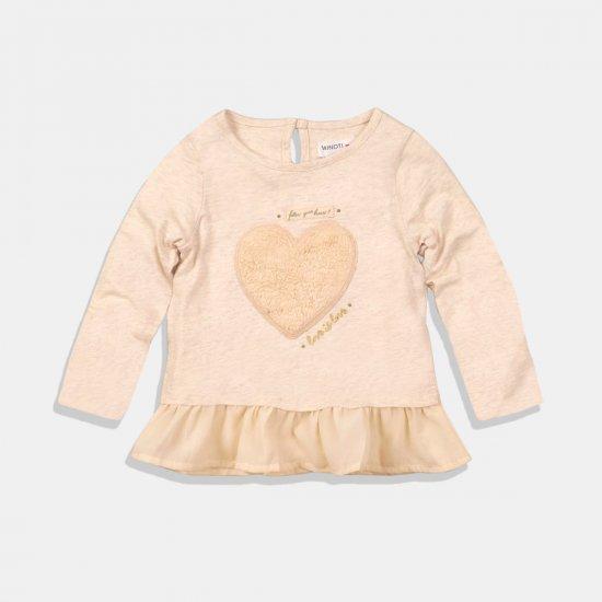 Детска блуза сърце