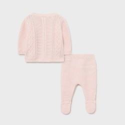 Сет Mayoral от три части в розово за бебе момиче