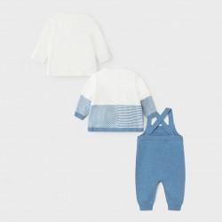 Сет Mayoral от три части в синьо за бебе момче