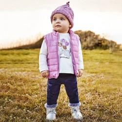 Комплект Mayoral в розово от три части за бебе момиче