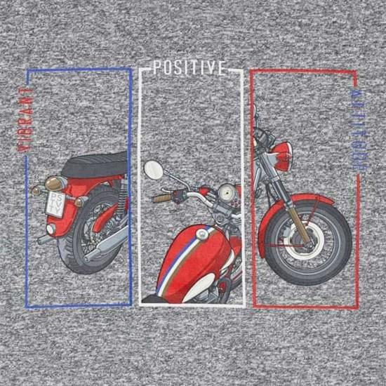 Сива блуза Mayoral мотор