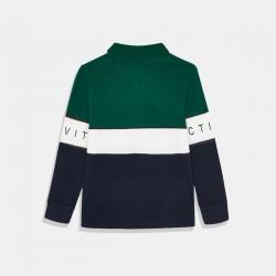 Трицветна блуза Mayoral за момче
