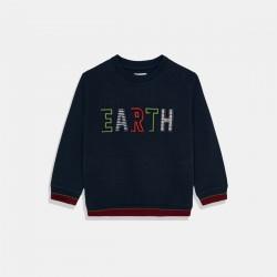 "Пуловер Mayoral  ""Earth""  в синьо"