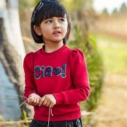 Червена блуза Mayoral за момиче