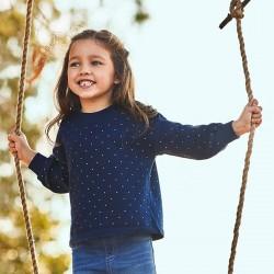 Синя блуза Mayoral за момиче