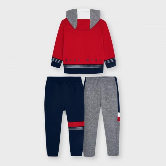 Комплект Mayoral от три части / суитшърт и два броя сротни панталони