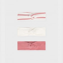Mayoral сет от диадеми в бяло и розово