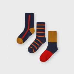 Сет чорапи Mayoral червено и синьо