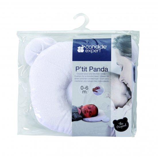 Детска Възглавница P'Tit Panda За Добре Закръглена Глава Бяла Candide