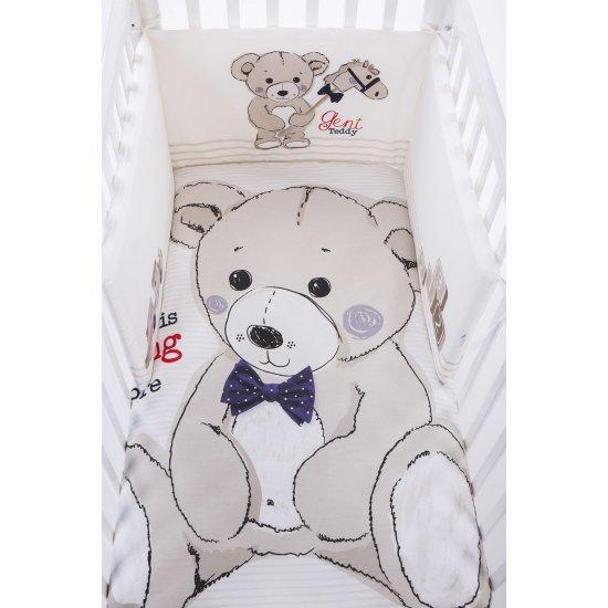 Бебешки спален комплект 2 части EU style 60/120 Teddy Bear