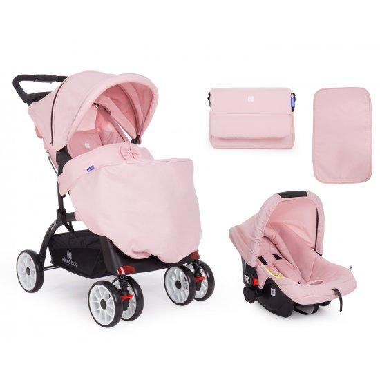 Комбинирана количка 2 в 1 Airy Pink