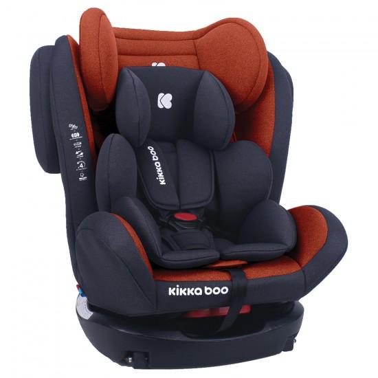 Стол за кола 0-1-2-3 (0-36 кг) 4 Fix DOUBLE ISOFIX Orange 2020