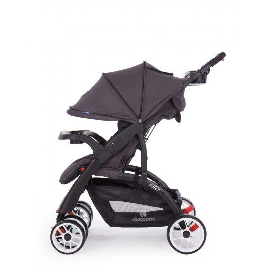 Комбинирана количка 2 в 1 Airy Dark Grey