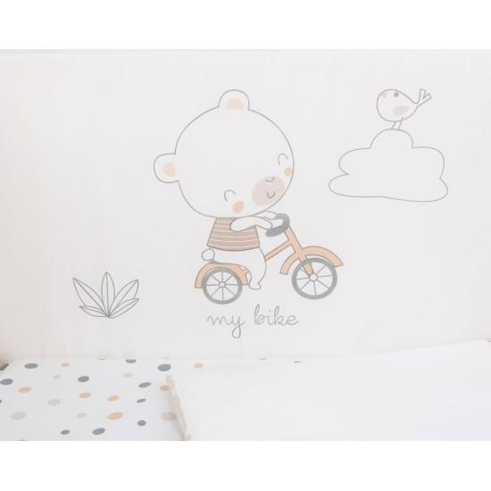 Бебешки спален комплект 6 части 60/120 My Teddy