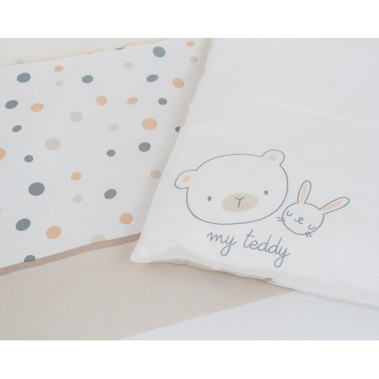 Бебешки спален комплект 5 части My Teddy
