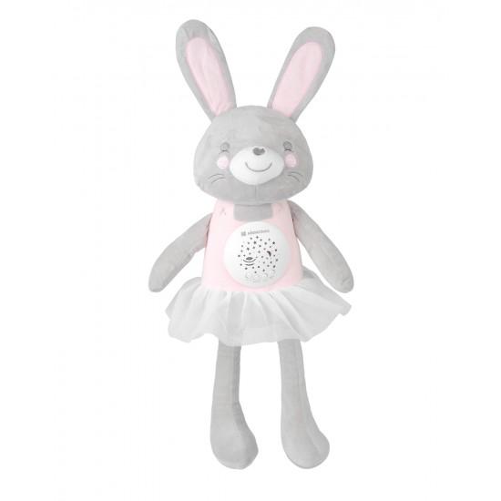 Плюшена музикална играчка с прожектор Bella the Bunny
