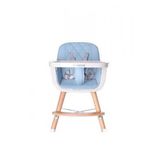 Дървен стол за хранене Woody Blue