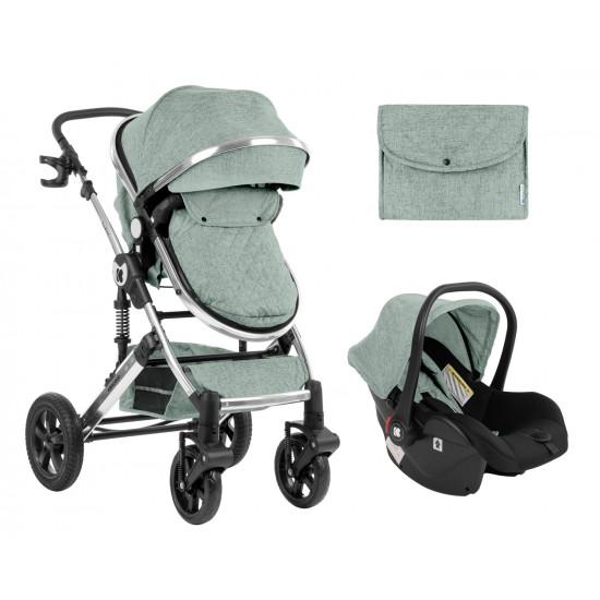 Комбинирана количка 3 в 1 с трансф.седалка Darling Mint 2020