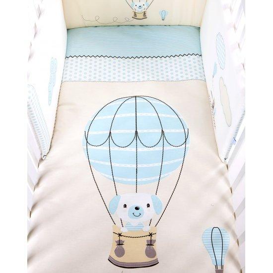 Бебешки спален комплект 2 части EU style 70/140 Puppy on Balloon