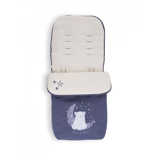 Чувалче за количка Polar Bear Navy