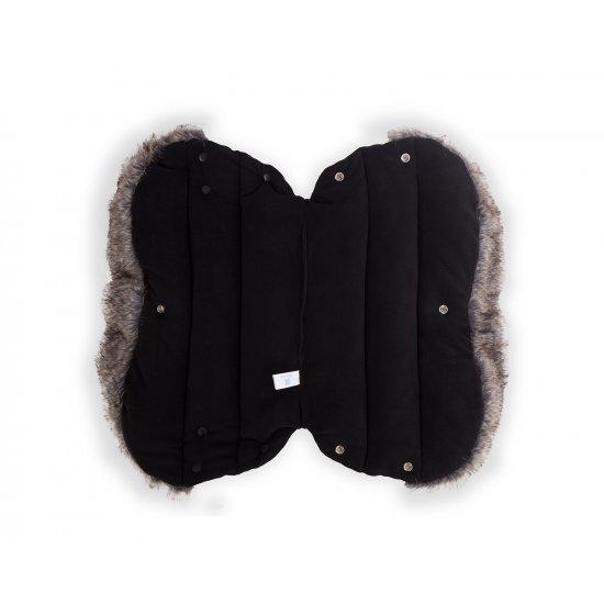 Ръкавица за количка Luxury Melange Cream
