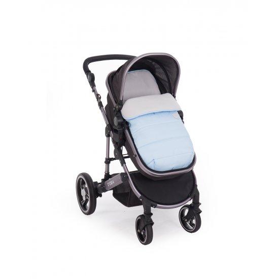 Чувалче за количка Embroidered Blue