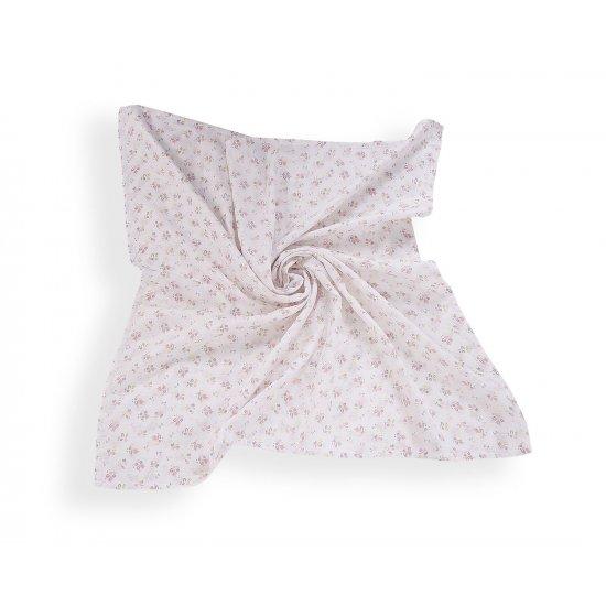 Лятно одеяло от муселин 90/90cm Flowers