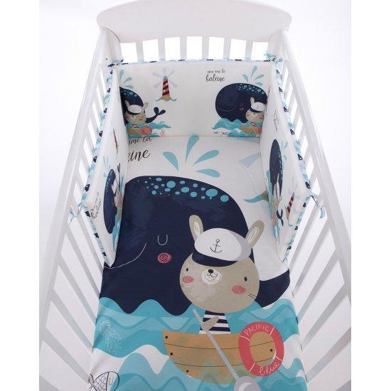 Бебешки спален комплект 2 части EU style 70/140Happy Sailor