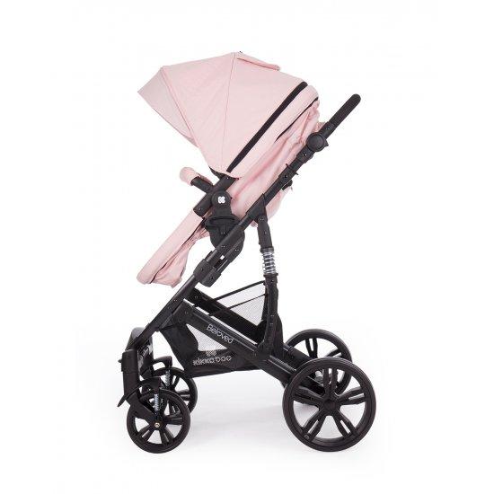 Комбинирана количка 3 в 1 Beloved Light Pink