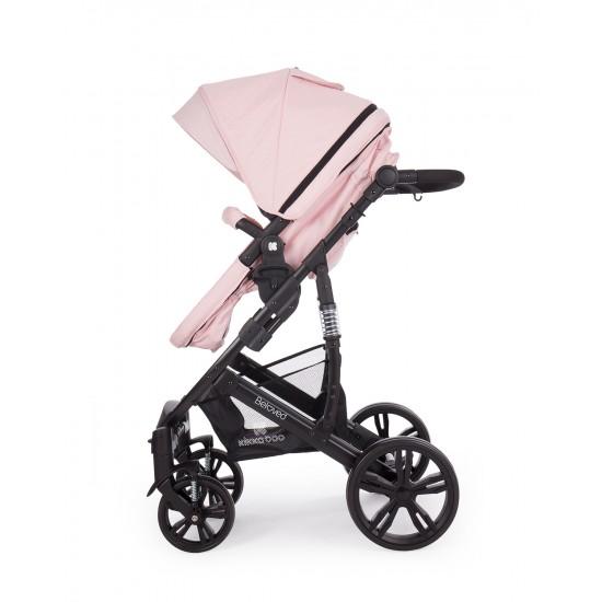 Комбинирана количка 2 в 1 Beloved Light Pink