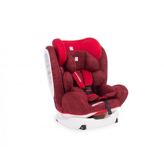 Стол за кола 0-1-2-3 (0-36 кг) 4 Fix DOUBLE ISOFIX Red