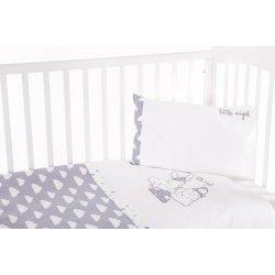 Бебешки спален комплект 3 части с бродерия Little Angel