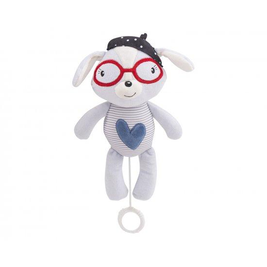 Музикална играчка за легло Blue Heart LOVE ROME