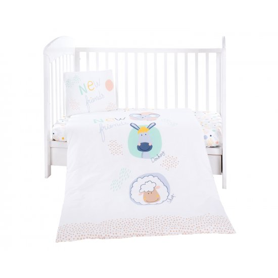 Бебешки спален комплект 3 части New Friends