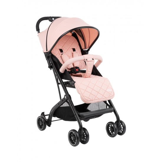 Бебешка лятна количка Miley Pink + покривало