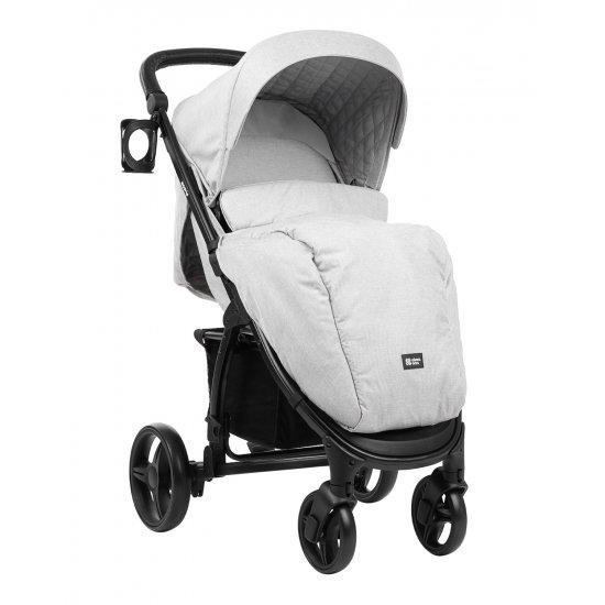 Комбинирана количка 3 в 1 Madrid Light Grey Melange 2020