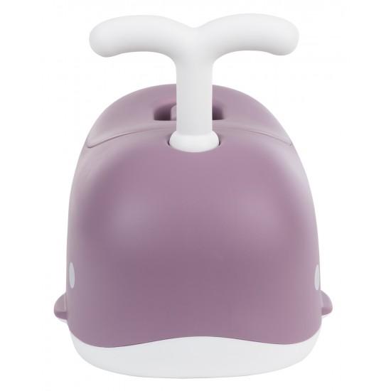 Гърне бебешко Whale Lilac