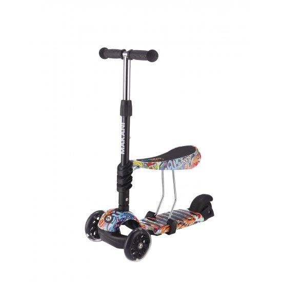 Makani Тротинетка 3 в 1 Ride and Skate Scretch