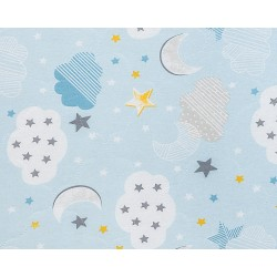 Матрак Siesta 60х120х10см Clouds Blue