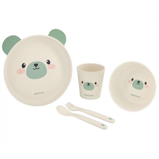 Сет за хранене бамбук Bear Mint