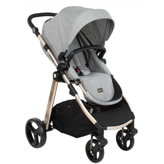 Комбинирана количка 3 в 1 Ugo Light Grey Melange 2020