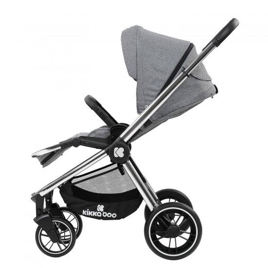 Комбинирана количка 3 в 1 Vicenza Premium Grey
