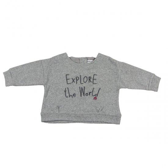 """Къса блуза ,,Explore the world"""""""