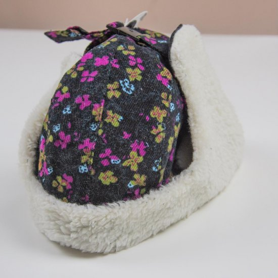 Детска зимна шапка с каракул