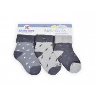 Бебешки памучни термо чорапи 12-24 месеца момчета