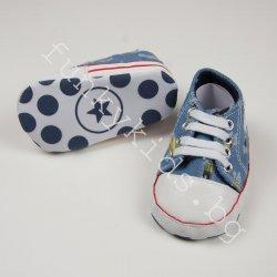 Буйки ''Baby Baby''  светло сини дънкови