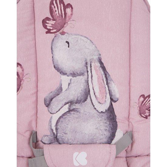 Бебешки шезлонг Foliage Pink Rabbits