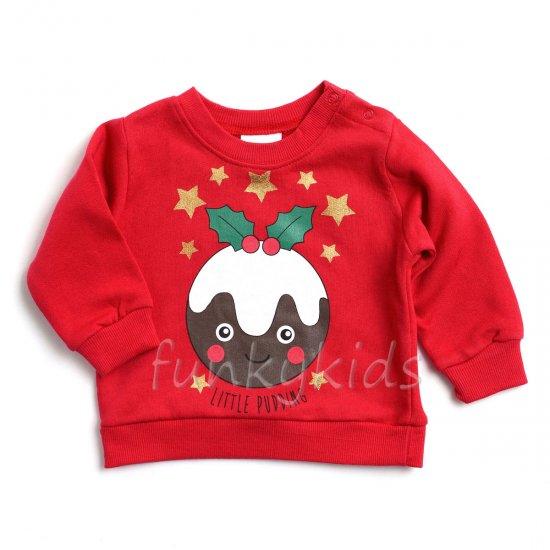 Коледна блуза Little Pudding