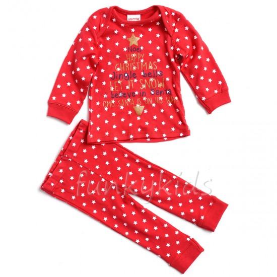 Коледна пижама Stars
