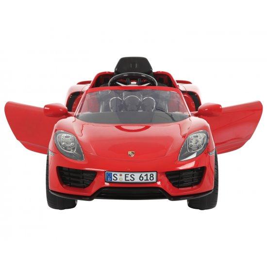 Акумулаторна кола Porsche 918 spyder hybr.superc, 6v, red